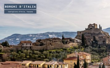 Castiglione d'Orcia, borgo toscano