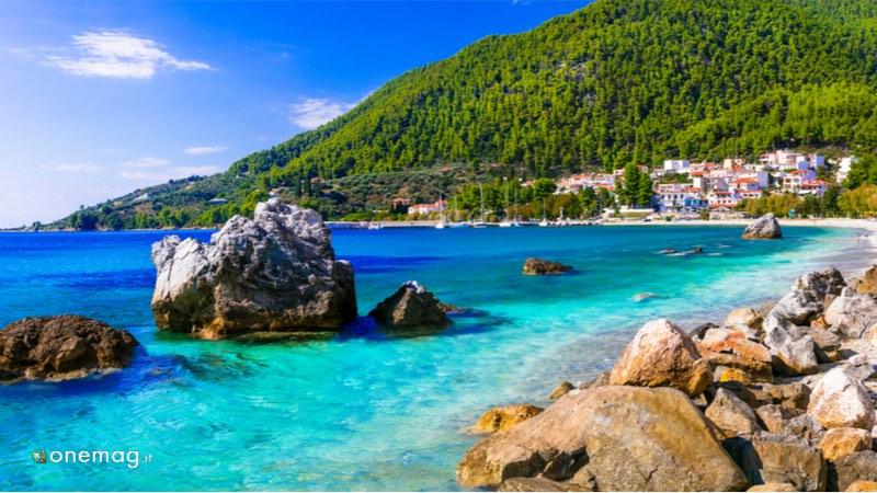 L'isola Skopelos in Grecia