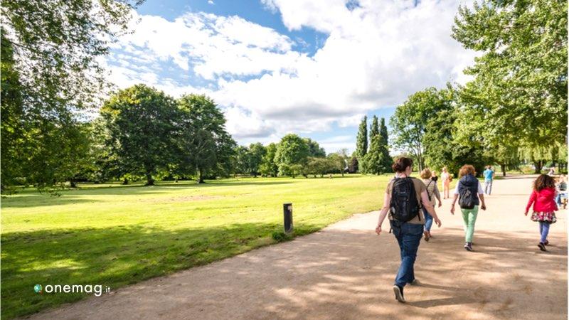 Cosa fare ad Amburgo in estate, passeggiata al parco Alster