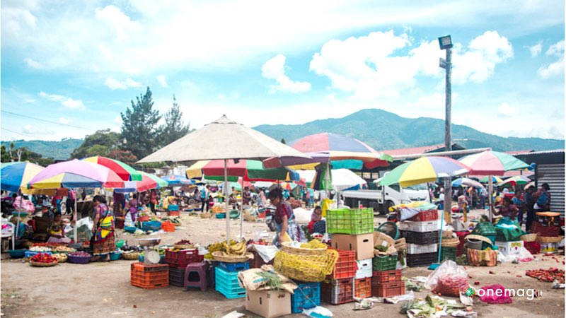 Mercato, Gastronomia Maya