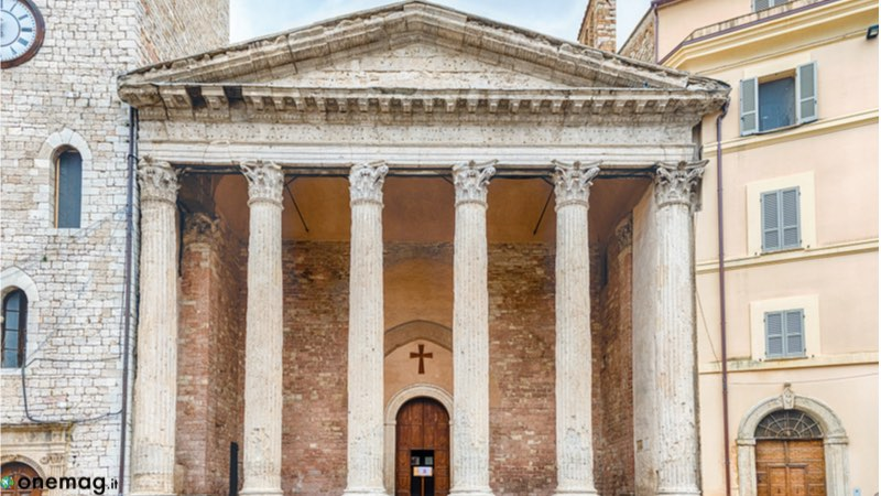 Assisi Tempio di Minerva