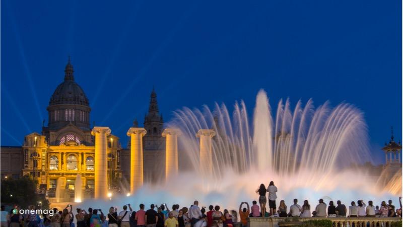 Le 10 cose da vedere a Barcellona, Fontana di Montjuik
