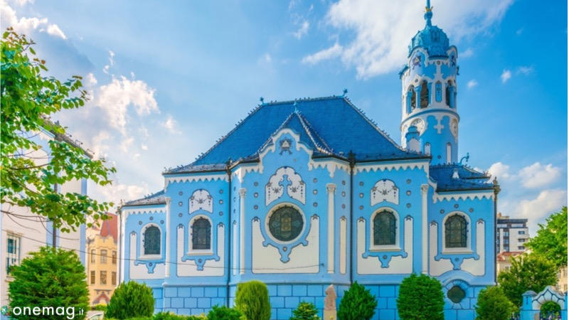 Bratislava Chiesa Blu