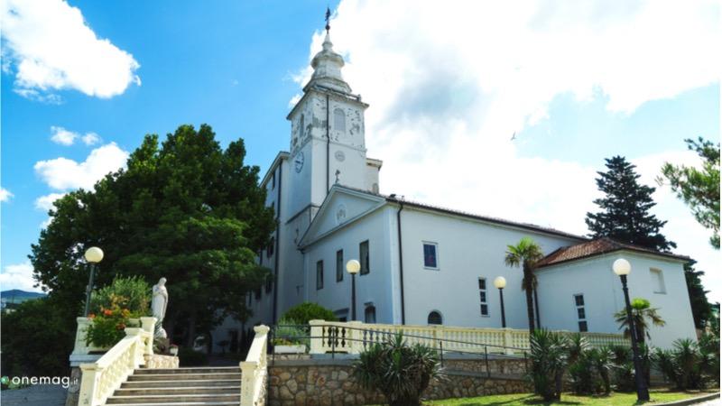 Le 10 cose da vedere a Fiume, la Basilica della Madonna del Tersatto