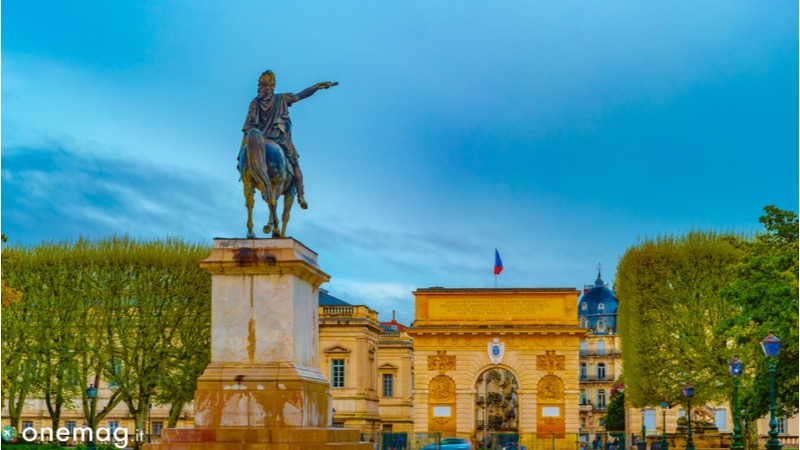 Montpellier Promenade di Peyrou