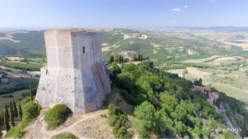 Cosa vedere a Castiglione d'Orcia, la Rocca d'Orcia