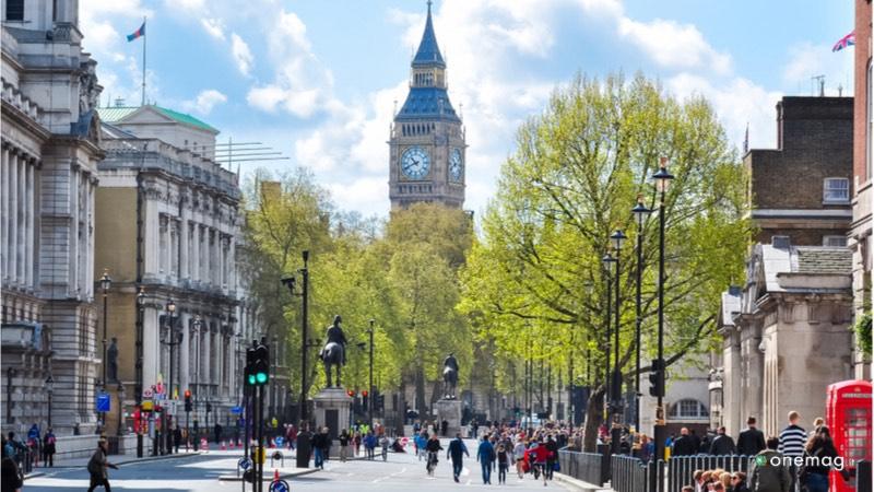 Le 10 cose da visitare a Londra, White Hall Street
