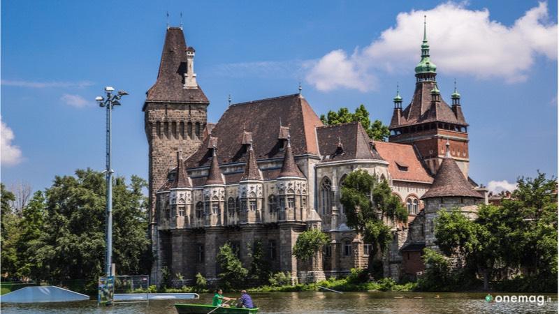 Castello Vajdahunyad a Budapest