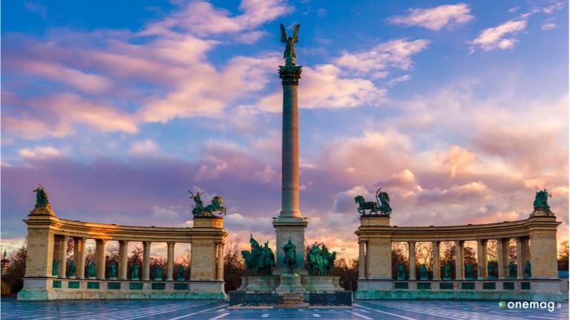 Le 10 cose da vedere a Budapest, la Piazza degli eroi
