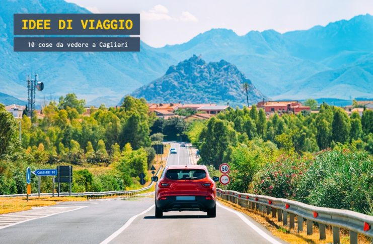Viaggio verso Cagliari in auto
