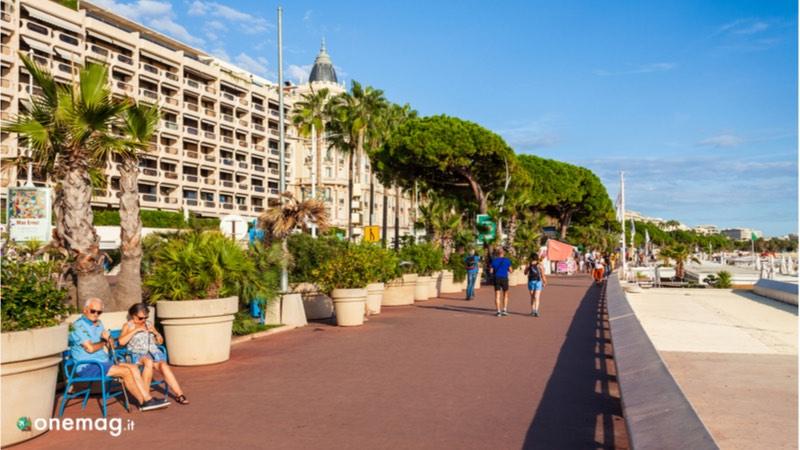 Cannes, Promenade de la Croisette