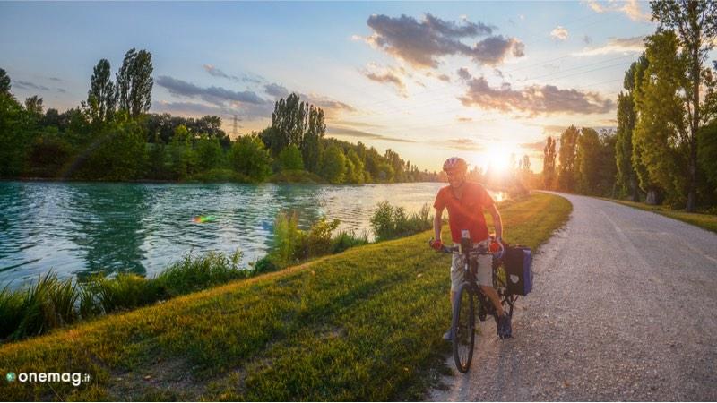Cosa vedere a Mantova, in giro in bicicletta