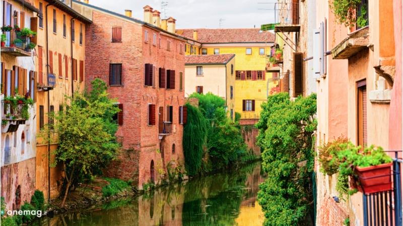 Cosa vedere a Mantova, veduta dal Mincio