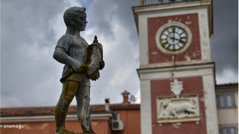 Cosa vedere a Rovigno, torre dell'Orologio