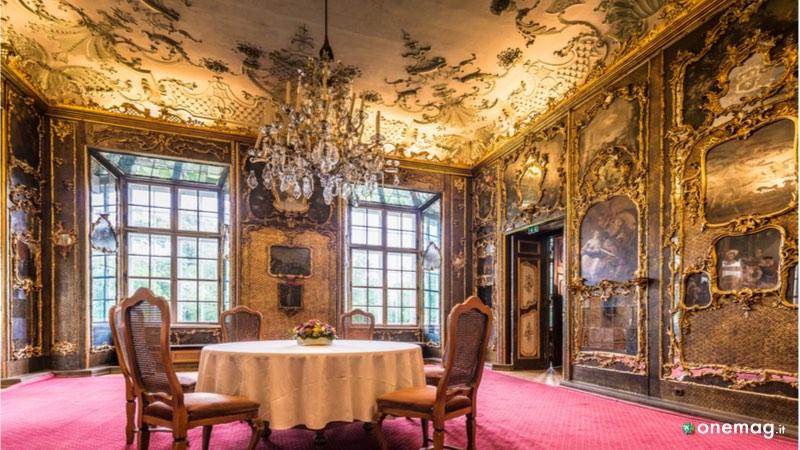 Parte interna del Castello Leopoldskron di Salisburgo