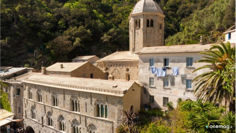 L'abbazia di San Fruttuoso, particolare