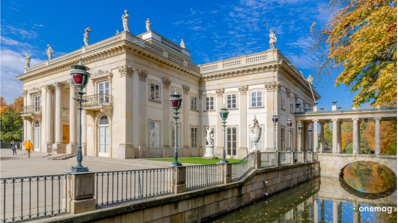 Le 10 cose da vedere a Varsavia, Palace on the Isle