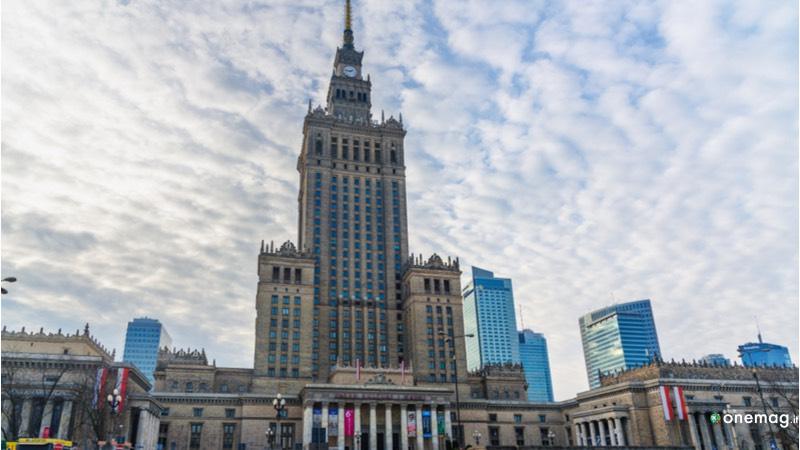 Varsavia Palazzo della Cultura e della Scienza