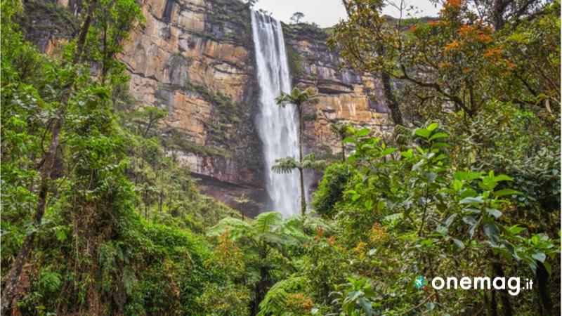 Cosa visitare a Chachapoyas, la cascata Gocta