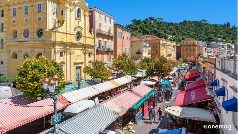 Cours Saleya, una delle 10 cose da vedere a Nizza