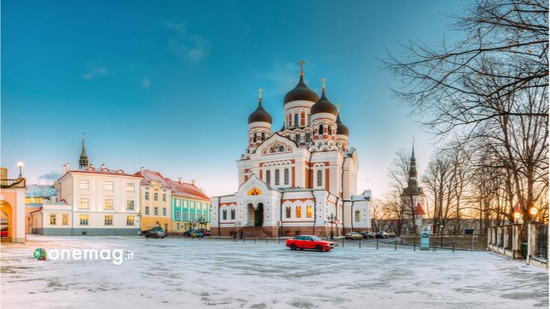 Cosa vedere, cosa visitare, cosa fare a Tallinn, La Cattedrale Alexander Nevskij