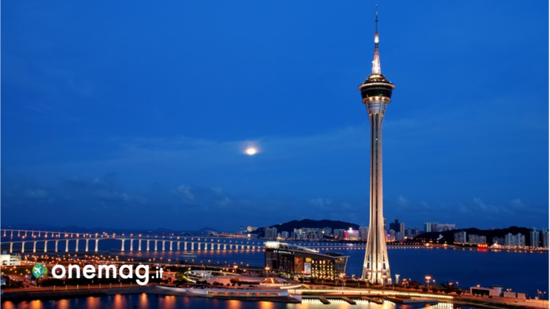 Cosa vedere a Macao, la Macau Tower, la Torre di Macao