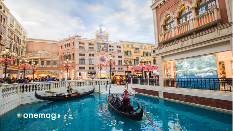 Cosa vedere a Macao. il Venetian Macau-Resort-Hotel