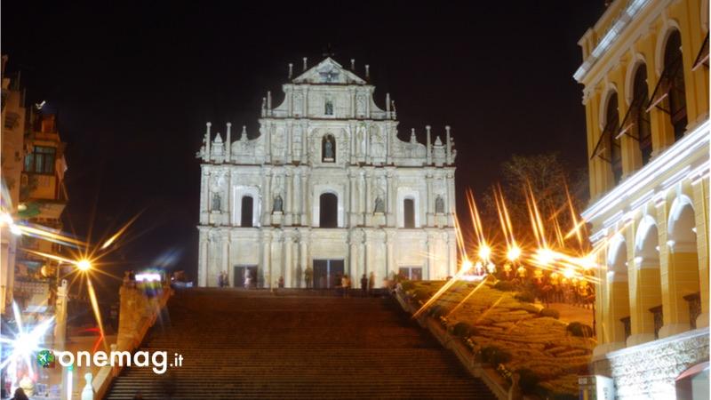 Cosa vedere a Macao, la cattedrale di San Paolo