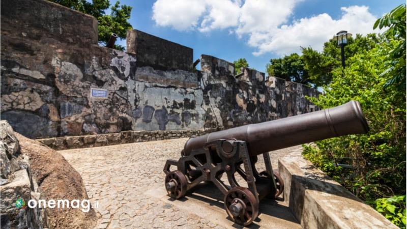 Cosa vedere a Macao in Cina, la Fortezza di San Paolo del Monte