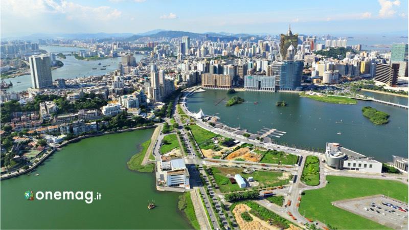 Cosa vedere a Macao, veduta panoramica