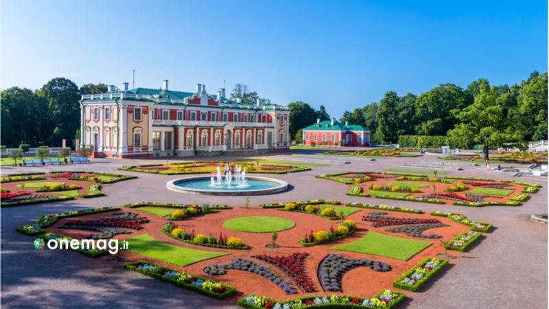 Cosa vedere, cosa visitare, cosa fare a Tallinn, il palazzo Kadriorg