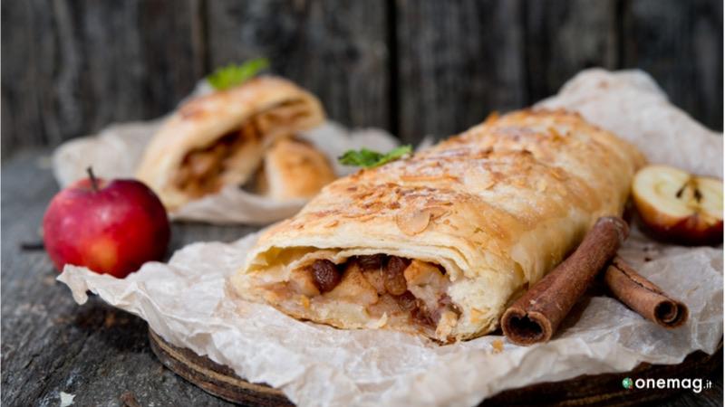 Gastronomia della Val Gardena, strudel