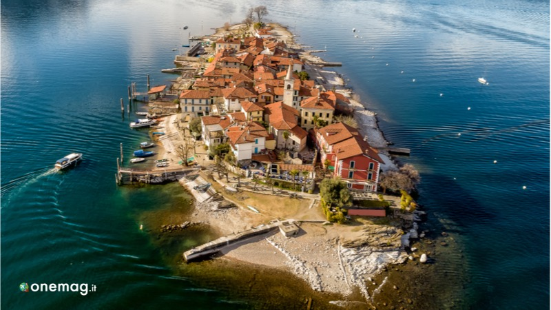 I laghi del nord Italia, Isola dei Pescatori sul Lago Maggiore