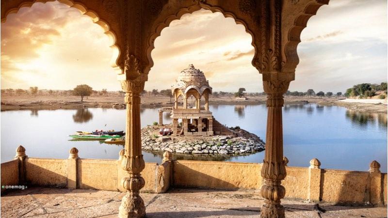 Jaisalmer Lago Gadisar