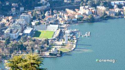 I laghi del Nord Italia, veduta del lago di Como