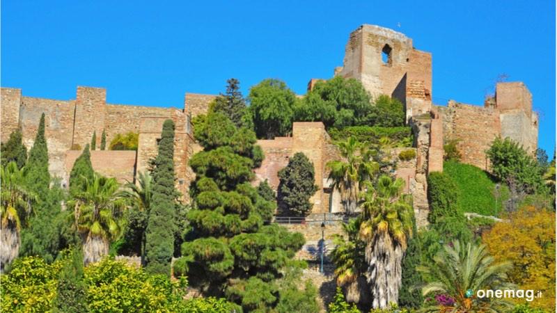 La fortezza Alcazaba a Malaga