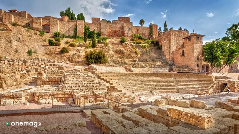 Cosa vedere a Malaga, il Teatro romano