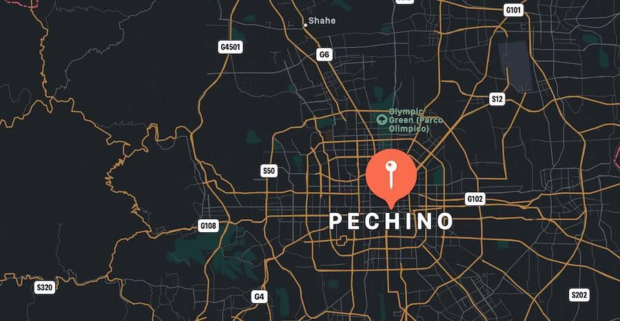 10 cose da vedere a Pechino, mappa