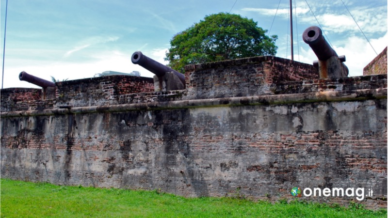 Cosa vedere a Penang, Fort Cornwallis