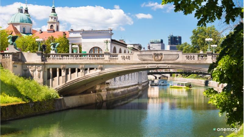 Cosa vedere a Lubiana, Ponte dei Draghi
