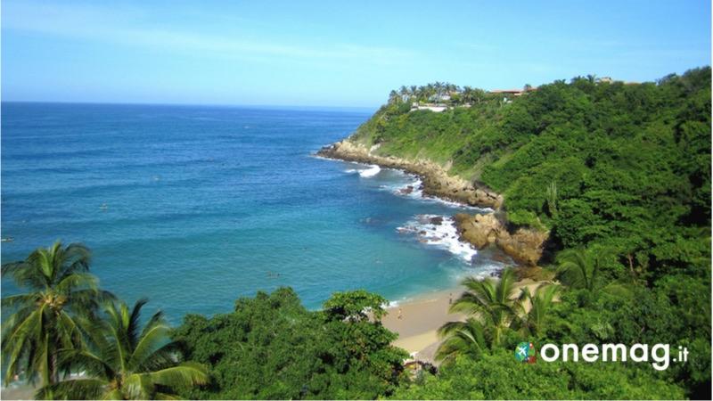 Puerto Escandido, la spiaggia Playa Carizalillo