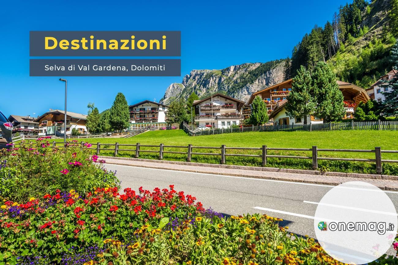 Selva Val Gardena, Dolomiti