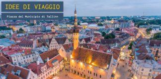 Piazza del Municipio a Tallinn