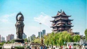 Tempio di Guiyuan, la visuale