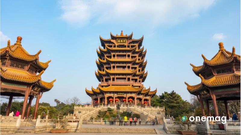 Viaggio in Wuhan, la pagoda della Gru gialla