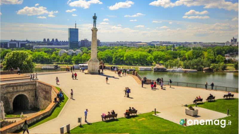 Cosa vedere a Belgrado, la Statua del Vincitore