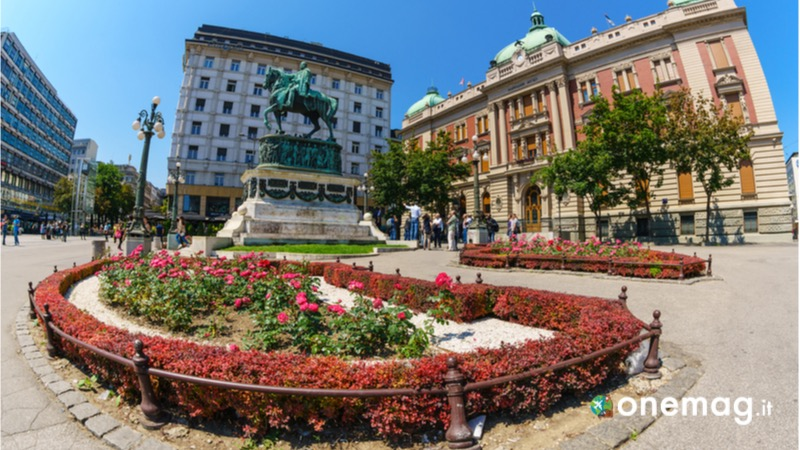 Visitare Belgrado, la Piazza della Repubblica