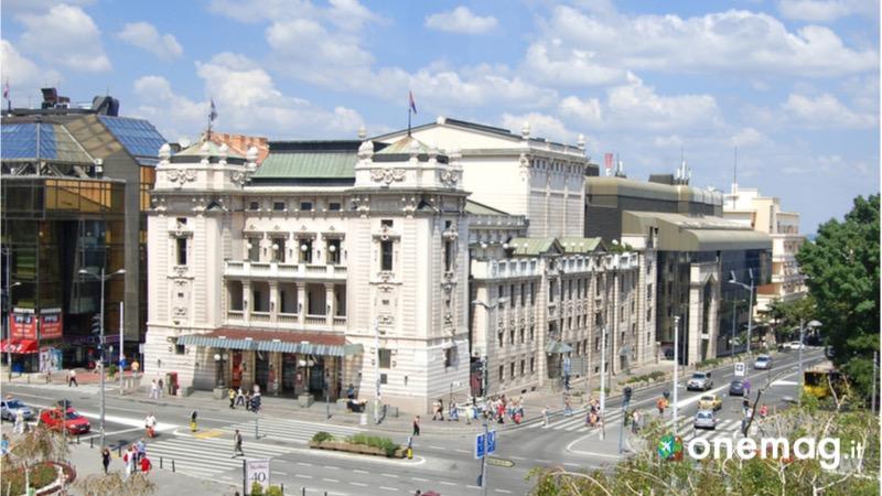 Cosa vedere a Belgrado, il Teatro Nazionale