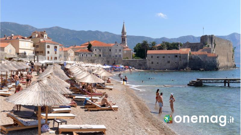 Cosa vedere a Budva, cosa vedere nella città costiera del Montenegro, le spiagge
