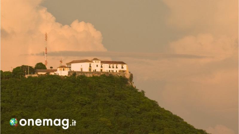 Cosa vedere a Cartagena de Indias in Colombia, il convento e la collina de la Popa